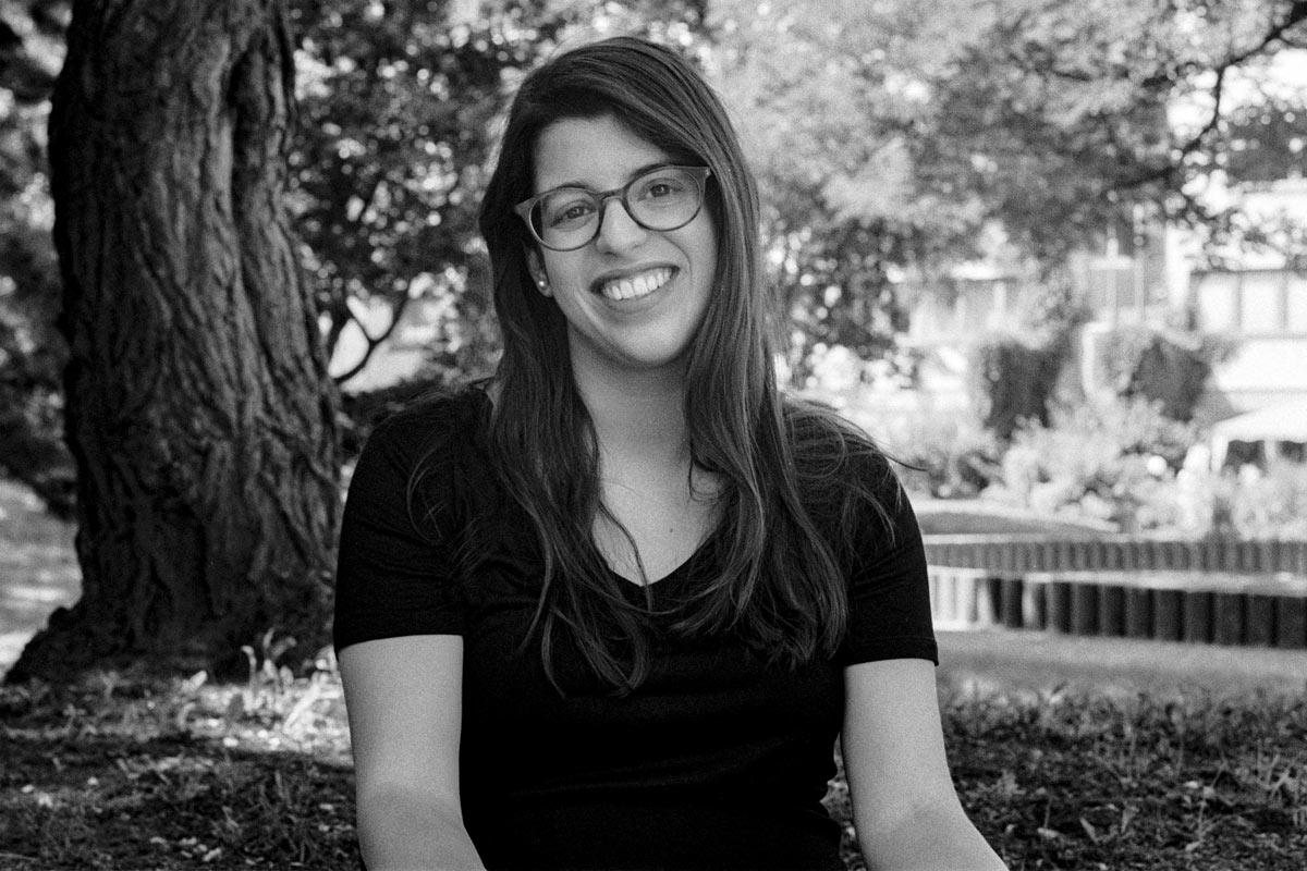 Hagar Levin ist 1987 im israelischen Hod HaScharon geboren und dort aufgewachsen. Ihre Familie hat europäische und irakische Wurzeln.