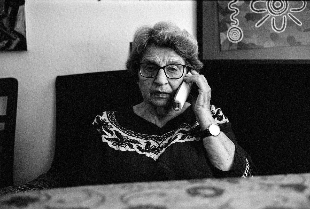 Salomea Genin wurde 1932 als Kind polnisch-russischer Juden in Berlin geboren. 1939 flüchtete die Familie vor den Nationalsozialisten nach Australien.